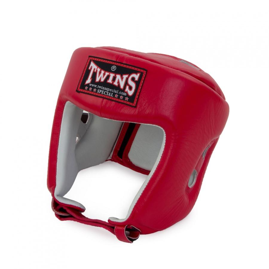 Шлем боксерский TWINS HGL 4 красный, XL