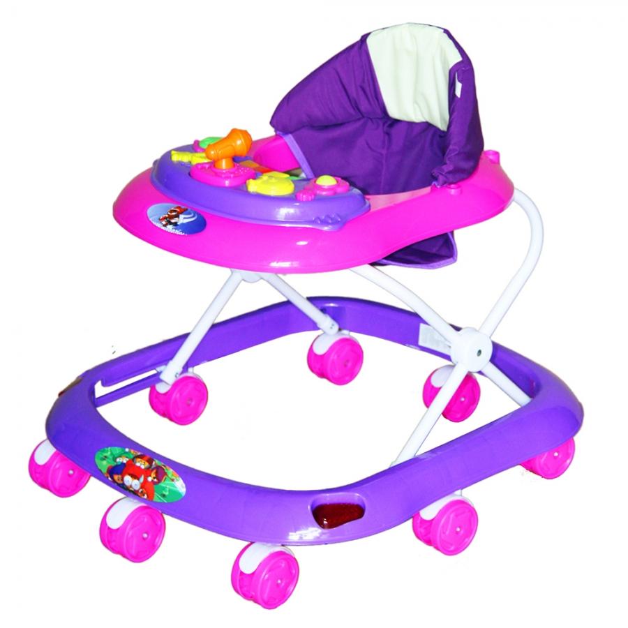 Купить Ходунки Bambola Капитан фиолетовый, Ходунки детские