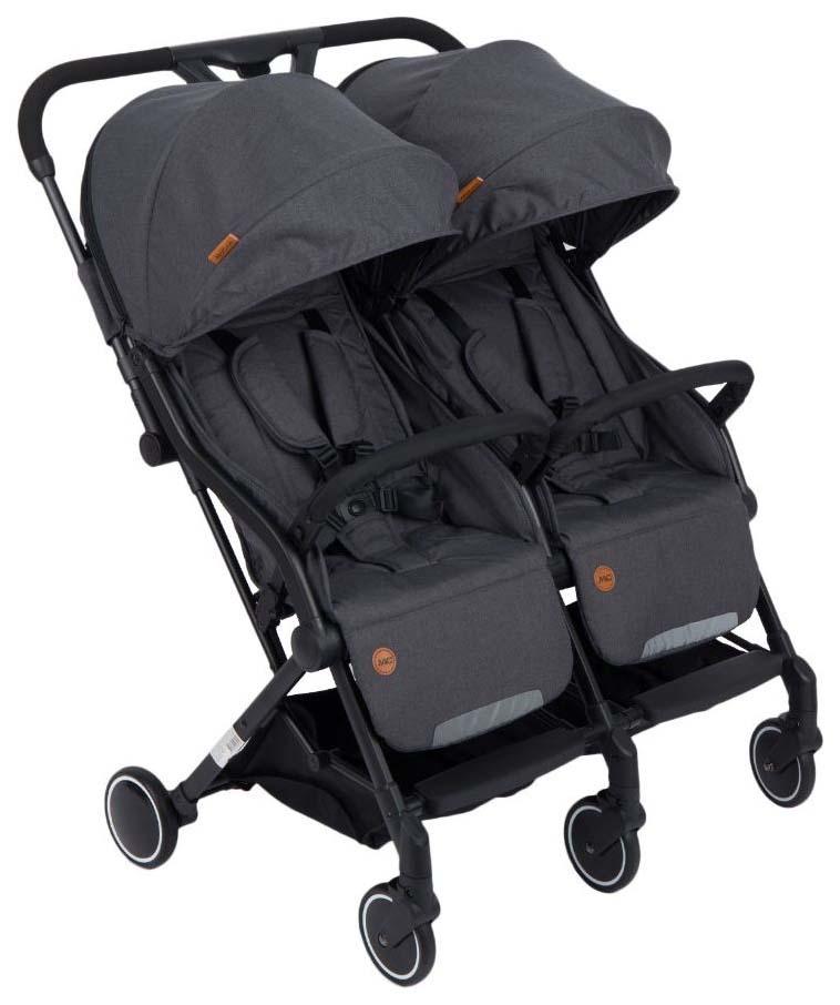 Прогулочная коляска для двойни McCan M-12, цвет: графит