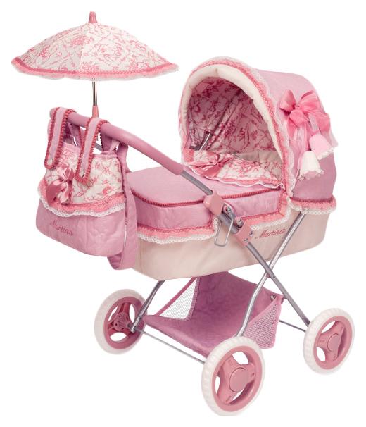 Купить Коляска для кукол DeCuevas Мартина 85026 Розовый, Коляски для кукол