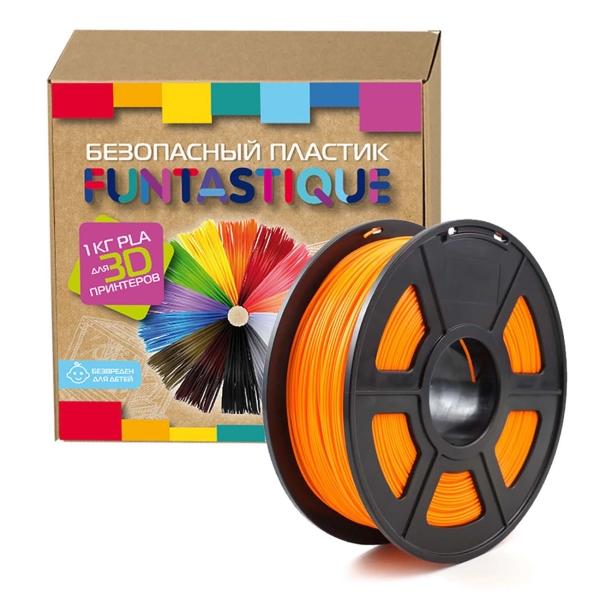 Пластик для 3D-принтера Funtastique PLA-1KG-OR PLA Orange