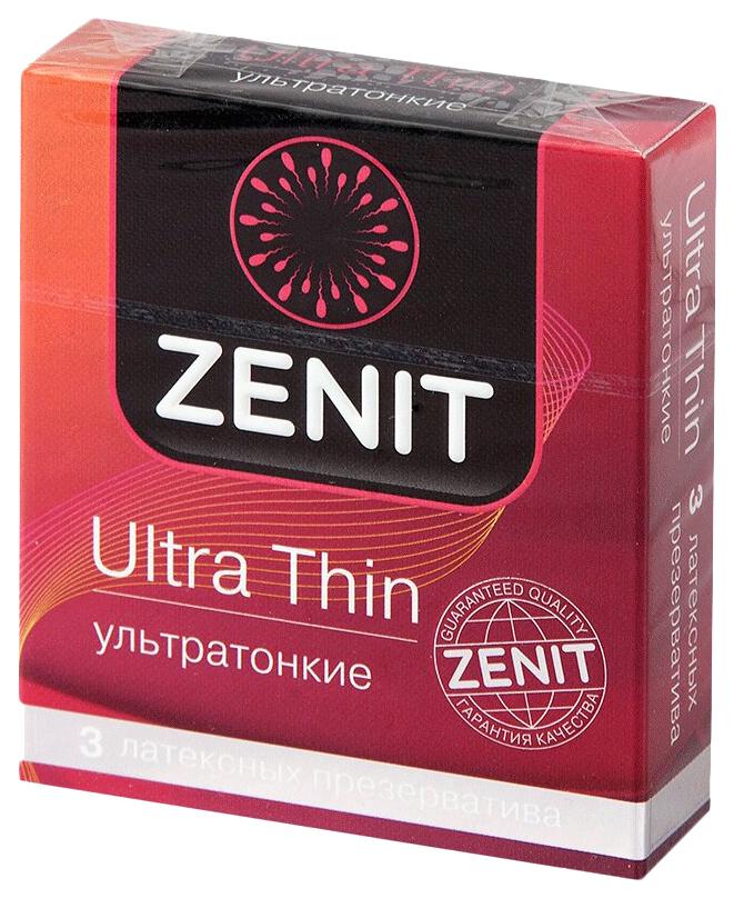 Презервативы Зенит ультратонкие 3 шт.