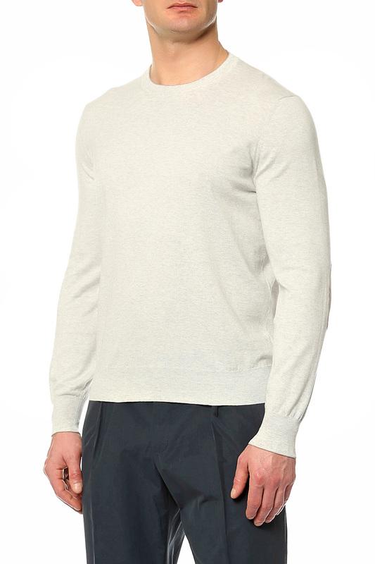 Пуловер мужской Brunello Cucinelli M2900150 CK128 серый 50 IT фото