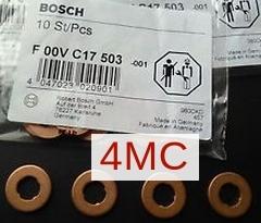 Кольцо уплотнительное Bosch F00VC17503