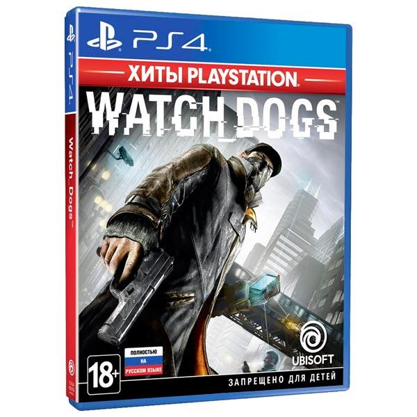 Игра Watch Dogs Хиты PlayStation для PlayStation 4 фото