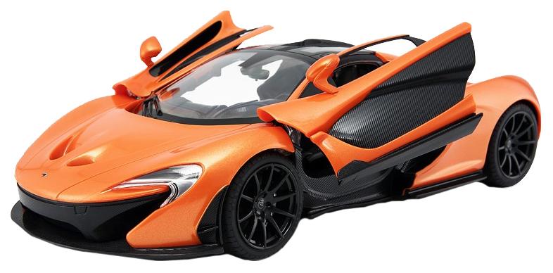 Радиоуправляемая машинка Rastar McLaren P1 оранжевая 75110O  - купить со скидкой