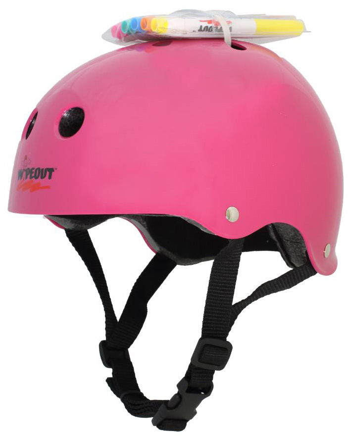 Купить Шлем с фломастерами Wipeout Neon Pink M 5+,