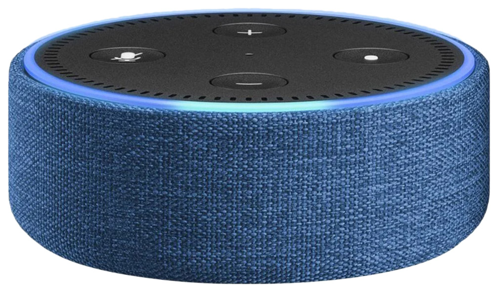 Чехол Amazon Echo Dot Sleeve Case Для колонки Amazon Echo Dot Gen 2 Indigo Fabric фото