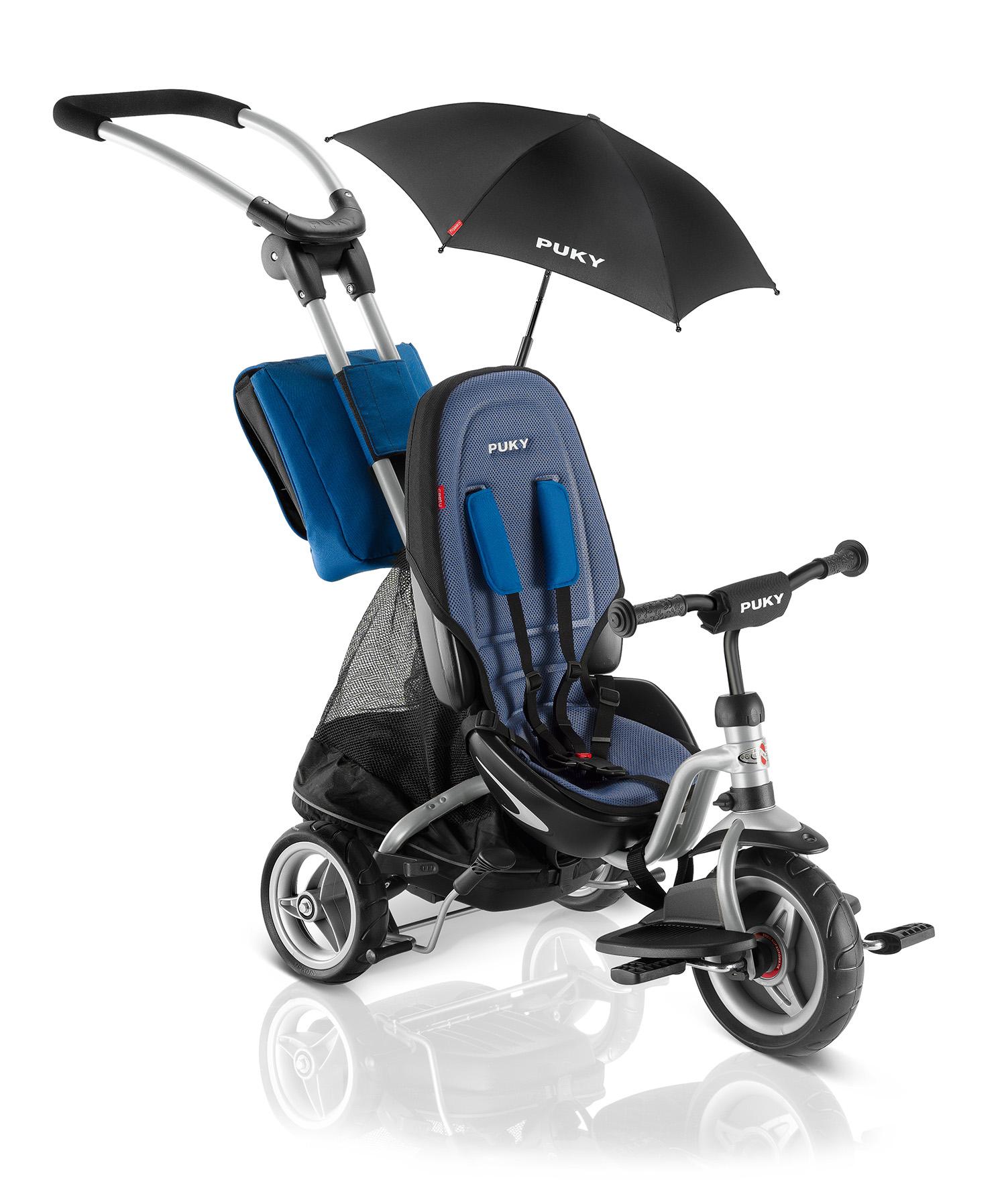 Купить Трехколесный велосипед Puky CAT S6 Ceety 2018 серебристый, синий, Велосипед трехколесный Puky CAT S6 Ceety 2018 серебристый,