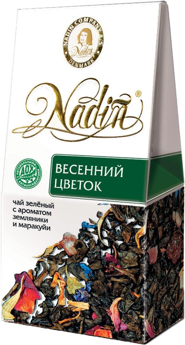 Чай зеленый листовой Nadin весенний цветок 50 г