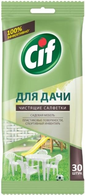 Салфетки чистящие Cif для дачи универсальные 30 штук