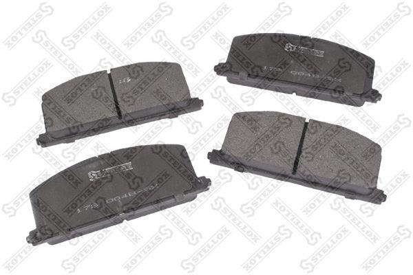 Комплект тормозных дисковых колодок Stellox 178 004B-SX