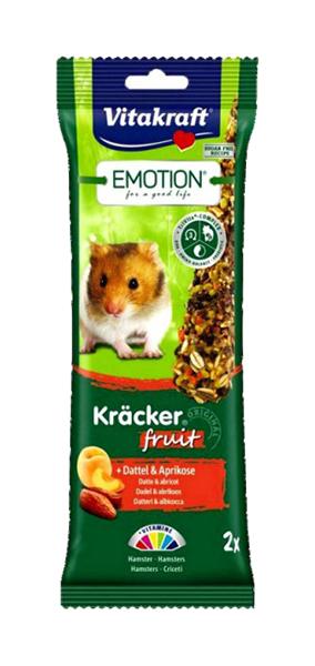 Лакомство для грызунов Vitakraft Emotion Kracker Fruit
