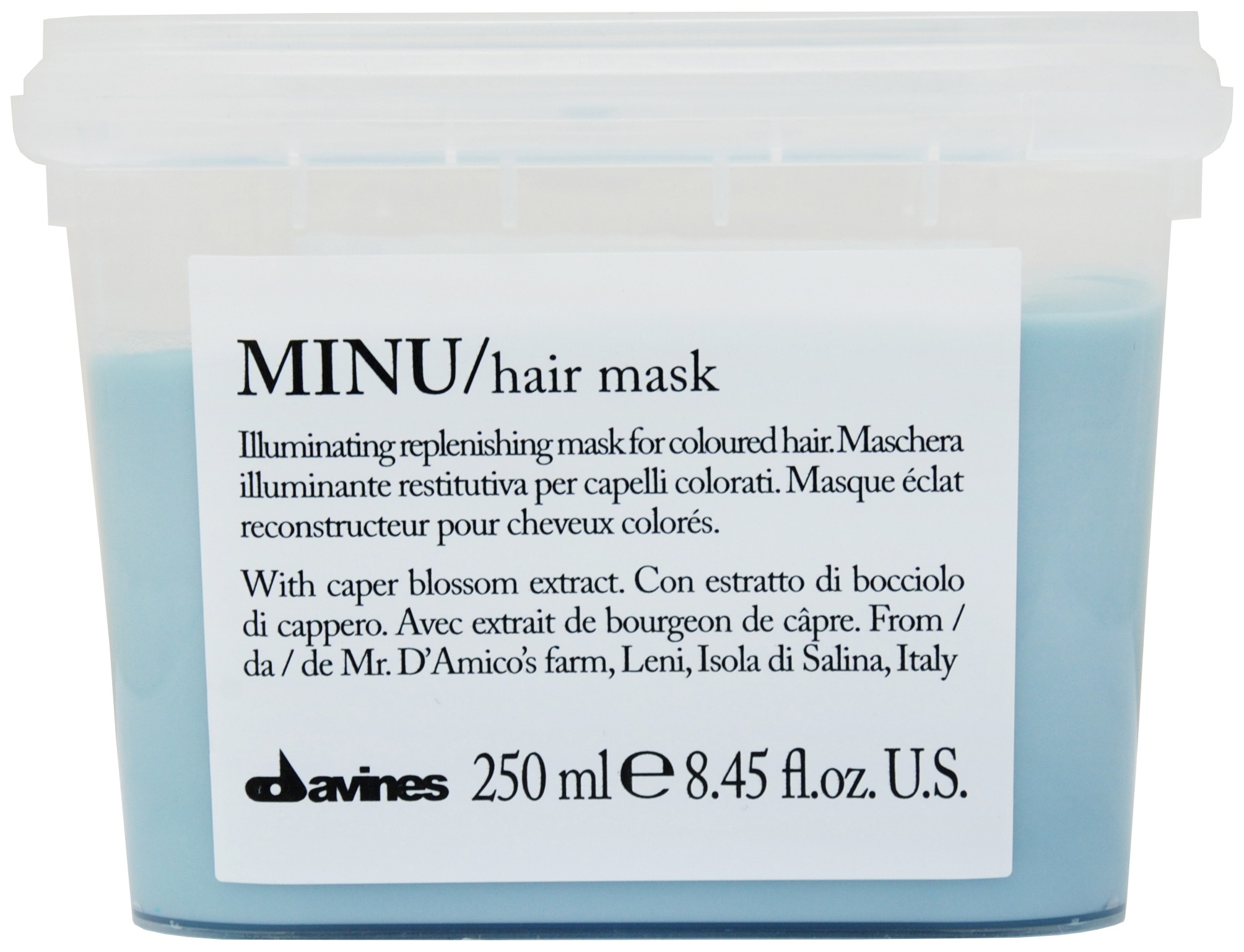 Маска для волос Davines Essential Haircare Minu Hair Mask 250 мл