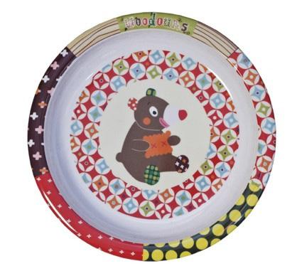 Купить Тарелка детская Ebulobo Мишка, Детские тарелки