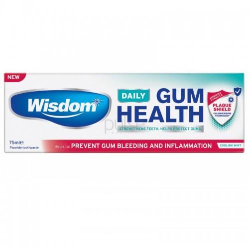 Зубная паста Wisdom защита от бактерий, содержит хлоргексидин 75 мл