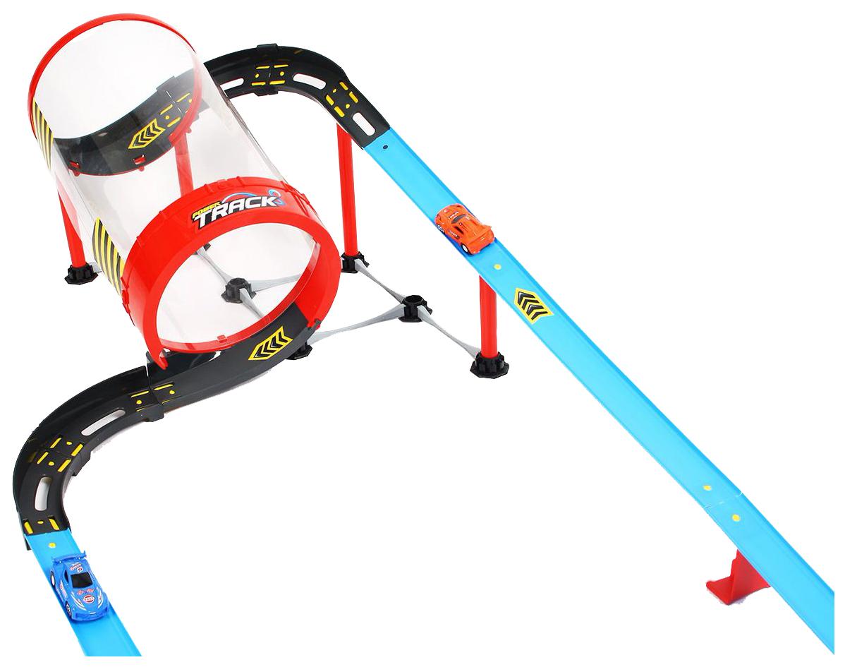 Купить Автотрек Qunxing Toys Гоночный трек Труба 68831, Детские автотреки
