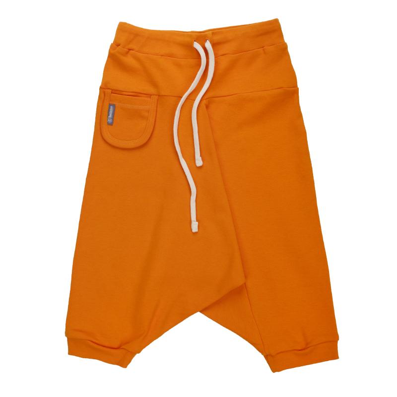 Купить Брюки детские Bambinizon Тыква ШТ-ТЫК р.68 оранжевый, Детские брюки и шорты