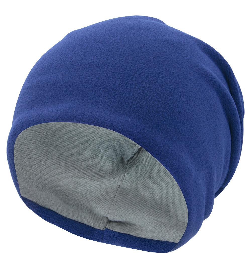 Купить Шапка детская Bambinizon из флиса Индиго ШАФ-Т.СИН р.116, Детские шапки и шарфы