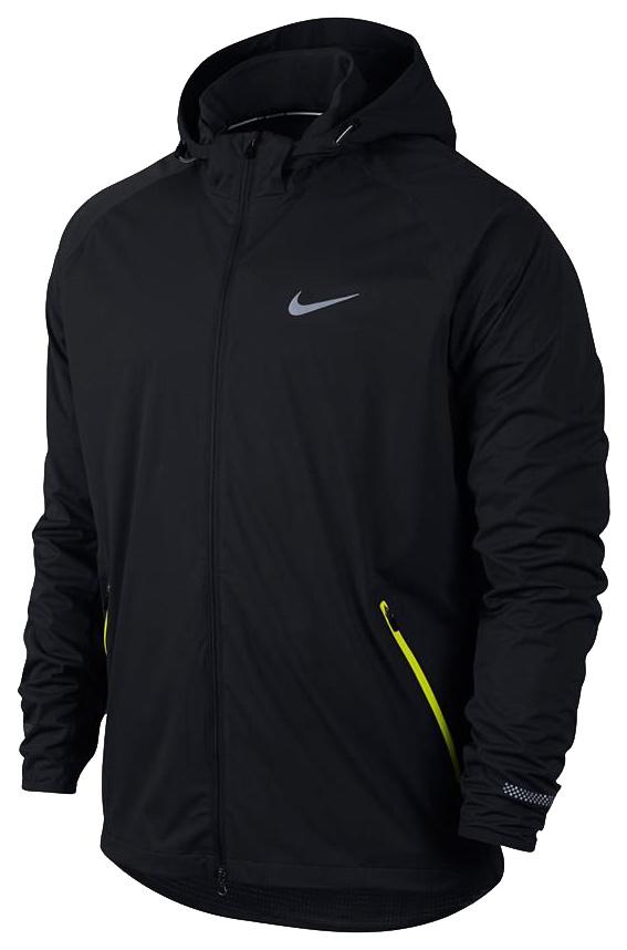 Спортивная куртка мужская Nike Shield Light Jacket, black, M