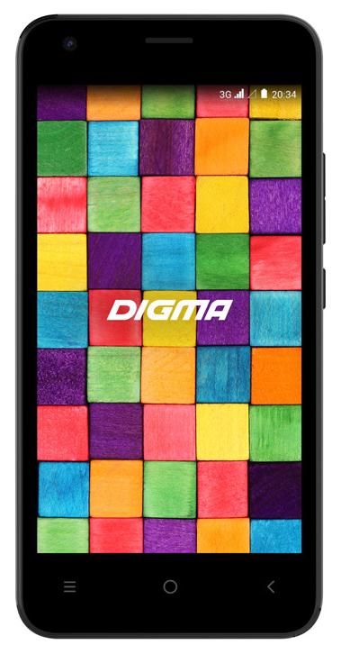 Смартфон Digma Argo 3G Linx 8Gb Black фото