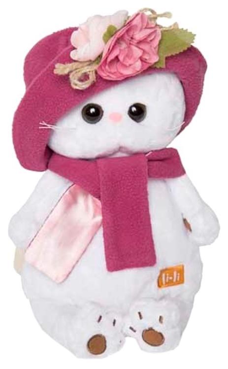 Купить Мягкая игрушка Budi Basa Кошечка Ли-Ли в панаме и шарфе 24 см,