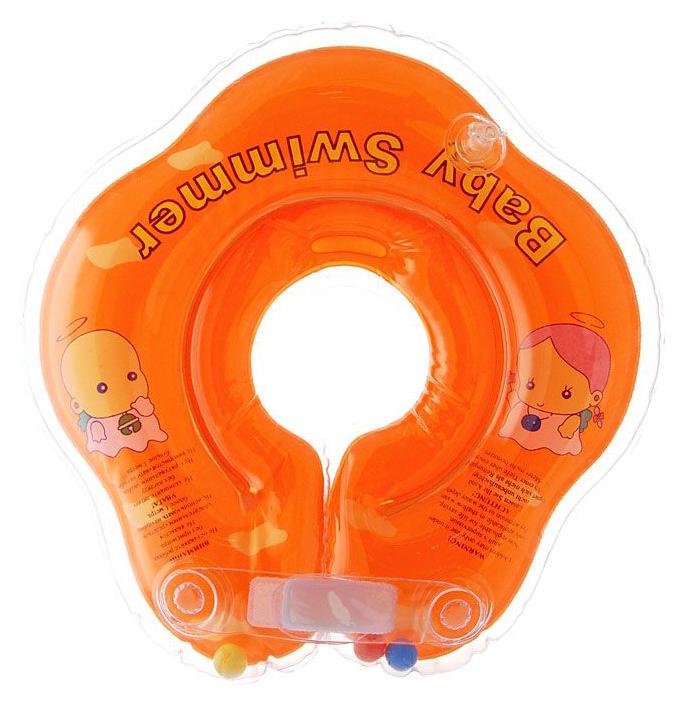Круг для купания Baby Swimmer BS02O-B Оранжевый