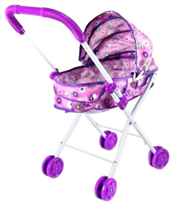 Купить Коляска-люлька Наша Игрушка Хризантема M7502-4, Наша игрушка, Коляски для кукол