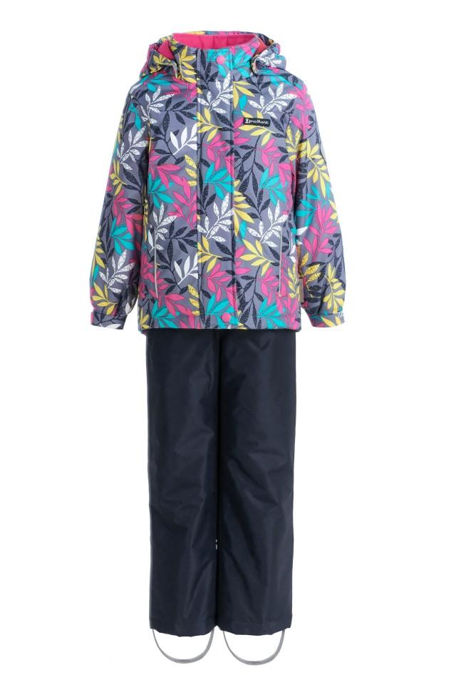 Купить Sp91202 grey, Комплект демисезонный: куртка и брюки Premont SP91202 серый р.92, Комплекты верхней одежды для девочек