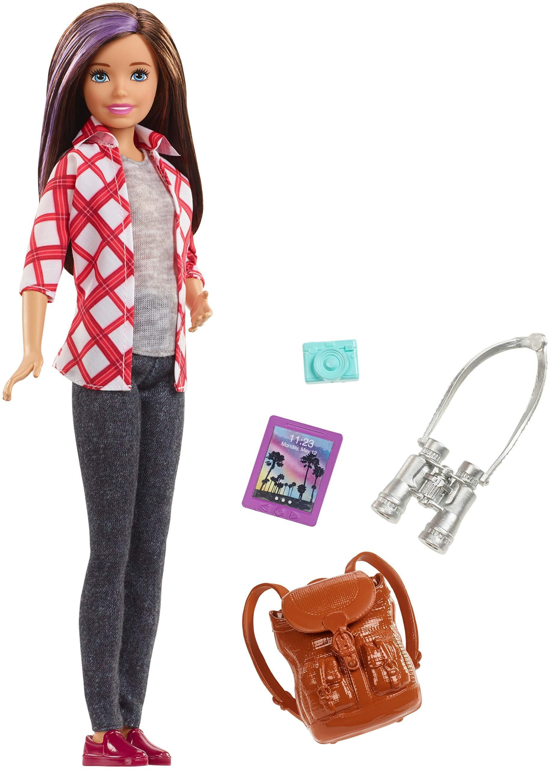 Купить Кукла Barbie Скиппер из серии Путешествия, Куклы Barbie