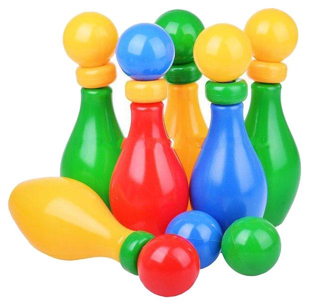 Купить Набор для боулинга Класата Веселый кегельбан 1603/KL, Детские летние игры