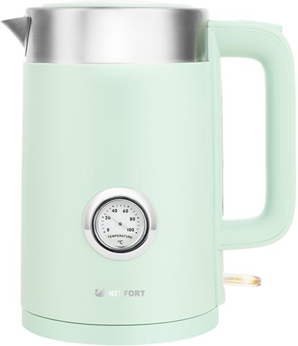 Чайник электрический Kitfort КТ-659-2 Lite Green