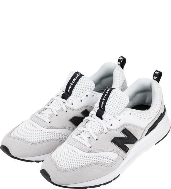 Женские кроссовки New Balance CW997HAA/B серые/белые/черные/серебристые 38