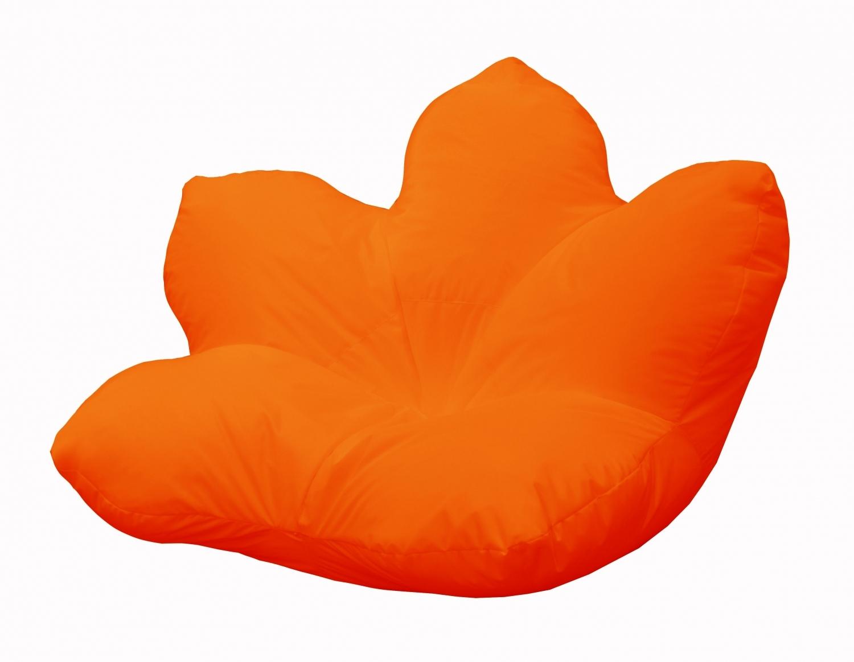 Кресло-мешок Pazitif Цветок Пазитифчик, размер XXL, оксфорд, оранжевый