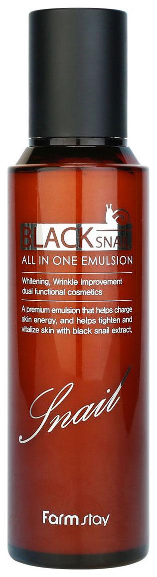 Эмульсия для лица FarmStay Black Snail All