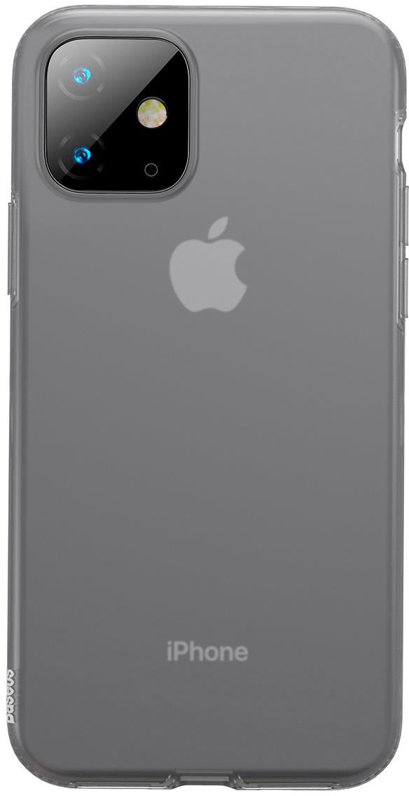 Чехол Baseus Jelly Liquid Silica Gel для Apple iPhone 11 2019 Black