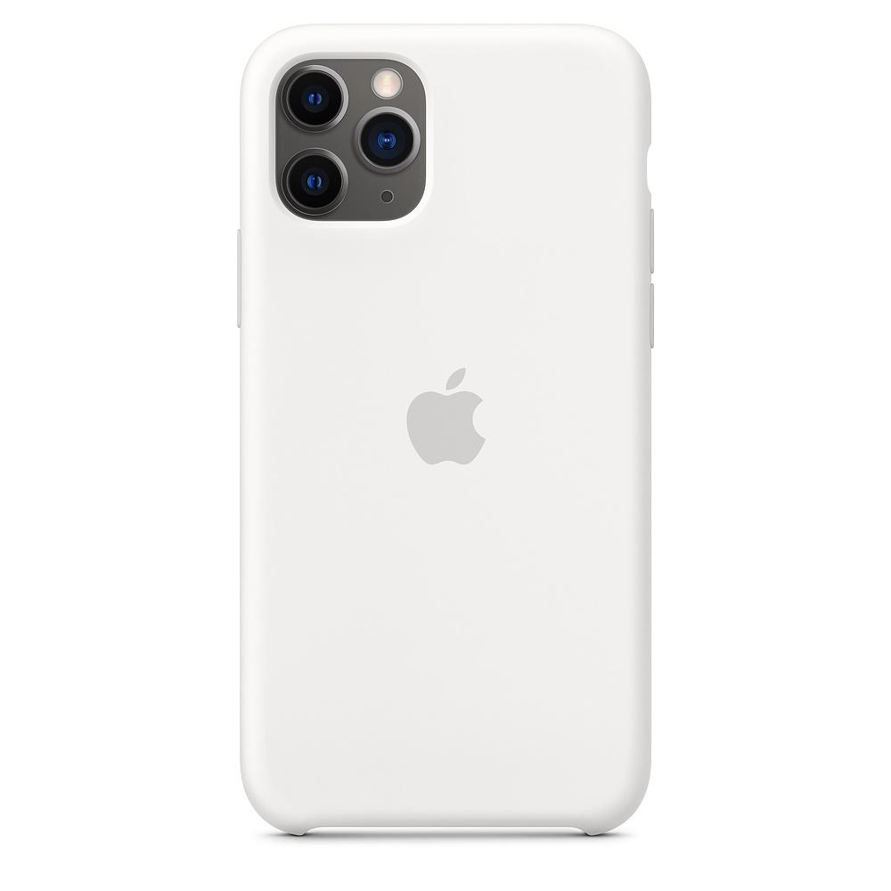 Чехол Apple для iPhone 11 Pro Silicone Case - White
