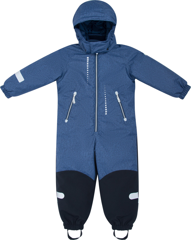Купить Комбинезон для мальчика Barkito, синий р.128, Детские трикотажные комбинезоны