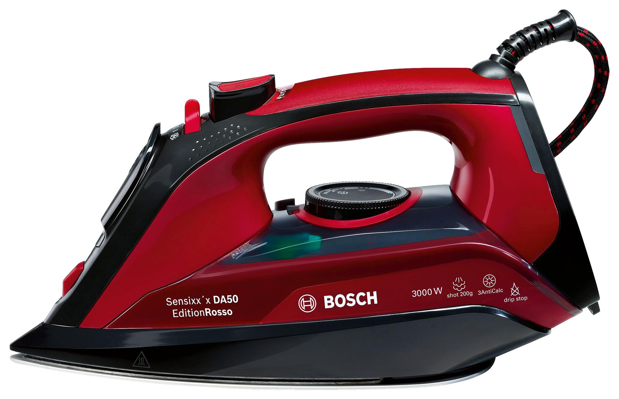 Утюг Bosch Sensixx`x DA50 TDA503011P Red/Black
