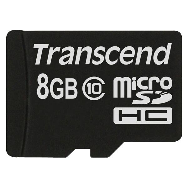 Карта памяти Transcend Micro SDHC Premium TS8GUSDC10 8GB фото