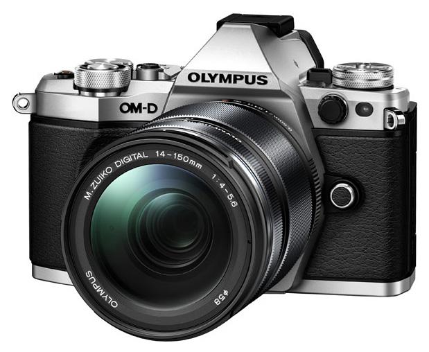 Фотоаппарат системный Olympus OM-D E-M5 Mark II 14-150 II Kit Silver фото