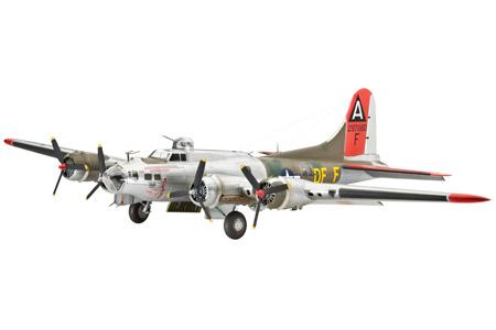 Купить Самолет бомбардировщик боинг b-17g «летающая крепость», американский, Revell, Модели для сборки