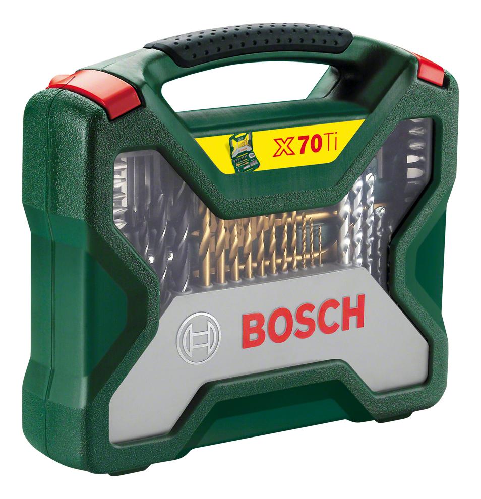 Наборы бит и сверл для дрелей, шуруповертов Bosch Titanium 70 2607019329