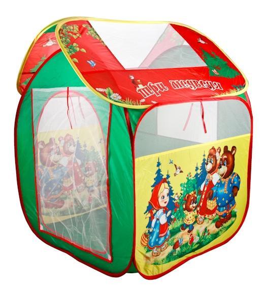 Купить Три медведя, Детская игровая палатка играем вместе gfa-3bear-r, Играем Вместе, Игровые палатки