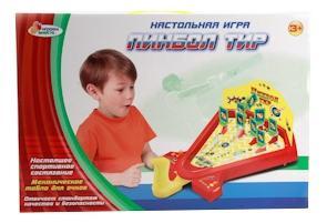 Настольный пинбол Играем Вместе Пинбол Тир