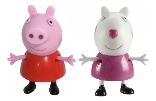 Купить Фигурки Peppa Pig 28816 Свинка Пеппа и Сьюзи, Игровые наборы