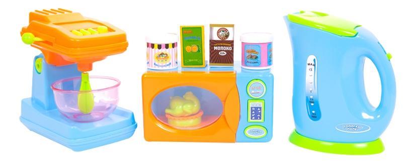 Помогаю маме. кухонная техника с продуктами pt-00484 фото