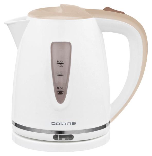 Чайник электрический Polaris PWK 1038C White/Beige