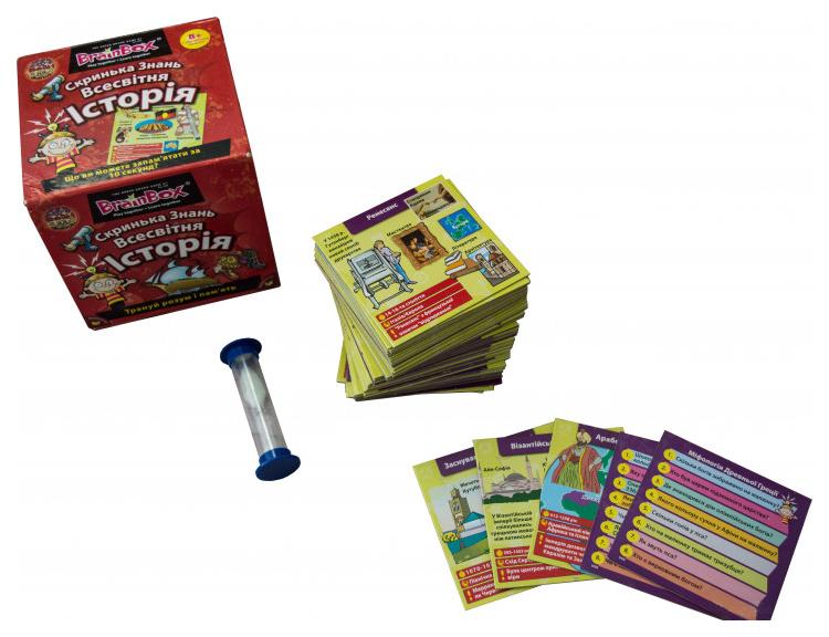 Семейная настольная игра BrainBox Всемирная история 90717.