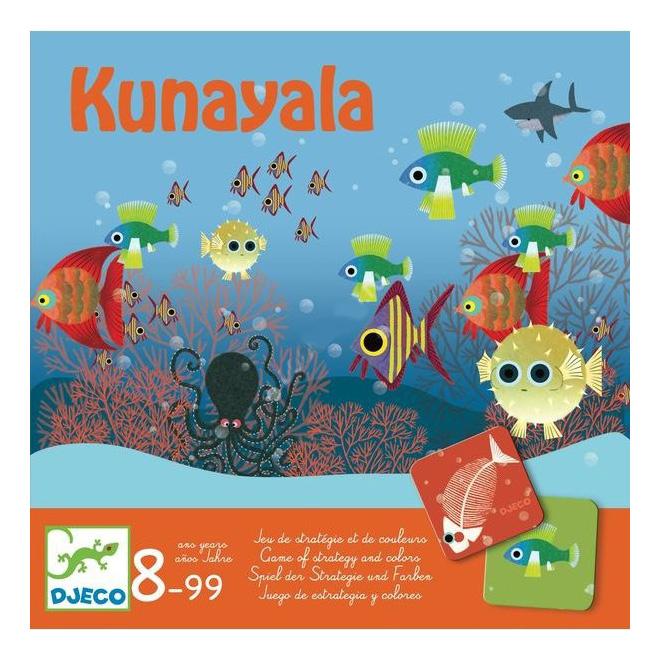 Купить Семейная настольная игра Djeco Куна Яла, Семейные настольные игры